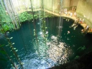 cenote at chichen itza