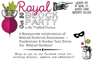 royal block Party October